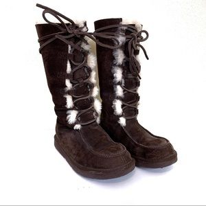 UGG | Tall Lace Up Boot